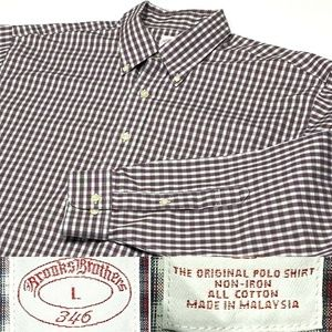 Brooks Brothers 346 Button Down Long Sleeve Shirt